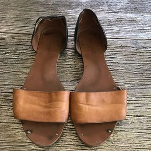 Madewell Leather Flats Sandals